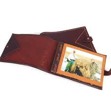 leather album company handcrafted leather photo album brag book coyote company leather