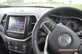 jeep cherokee dashboard all new jeep cherokee u2013 first impressions 30 minutes petroleum