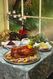 ted montana grill thanksgiving goose with gravy red cabbage videos of cooking recipes