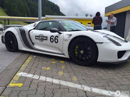 porsche 918 porsche 918 spyder weissach package 26 june 2016 autogespot