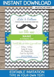mustache party invitations mustache party invitations party