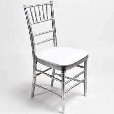 silver chiavari chair standard party rentals modesto