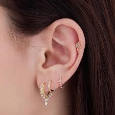 second earrings 36 best piercings images on jewelry piercing ideas