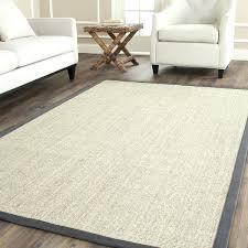 Wool Sisal Area Rugs Sisal Area Rug Casual Fiber Marble And Grey Border