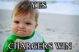 Winning Baby Meme - chargers win yes on memegen