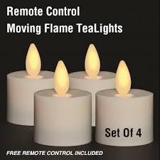 where to buy battery tea lights remote control moving flame tea lights set of 4 with free remote