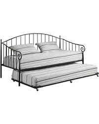 Black Daybed With Trundle Tis The Season For Savings On Thandie Metal Daybed Frame With Pop