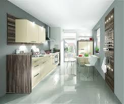 narrow kitchen kitchen modern narrow kitchens design with cream cabinet and white