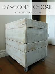 How Do You Make A Wooden Toy Box by 30 Amazing Diy Toy Storage Ideas For Crafty Moms U2013 Cute Diy Projects