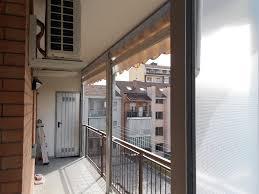 verande balconi foto chiusura completa balcone con tenda veranda doppio rullo
