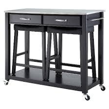 kitchen island cart stainless steel top stainless steel top kitchen cart island with stools crosley target