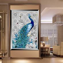 popular blue peacock pictures buy cheap blue peacock pictures lots