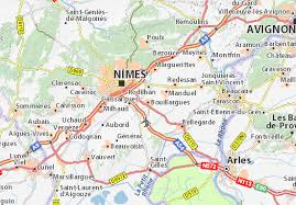 iso map map of bouillargues michelin bouillargues map viamichelin