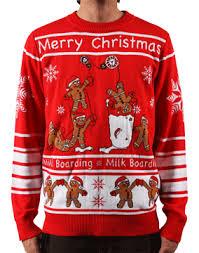 christmas sweater gear gingerbread men christmas sweater