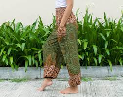 gypsy shags on overweight women over 50 with natural curls pants etsy