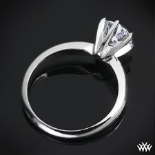 engagement ring setting 6 prong classic diamond solitaire 582