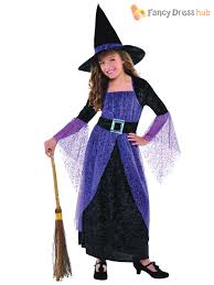 Halloween Costumes For Girls Size 14 16 Kids Girls Toddler Miss Matched Witch Costume Halloween Fancy