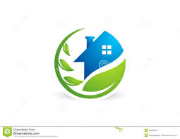 Home And Design Logo Home House Real Estate Logo Circle Building Architecture