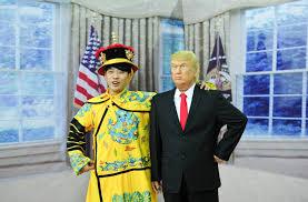 waxwork museum unveils creepy figure of donald trump but its