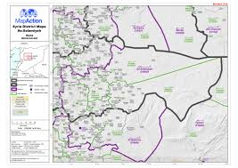 Homs Syria Map by Datasets Mapaction