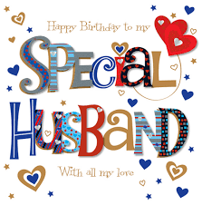 happy birthday cards for my husband jerzy decoration