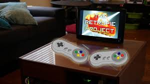 coffee table game console how to create the ultimate tech infused retro arcade coffee table