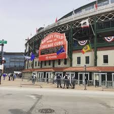 photos 2017 chicago cubs home opener at wrigley field wgn radio