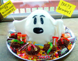 chica chocolatina i ain u0027t afraid of no ghosts halloween cake