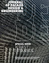 journal of facade design and engineering