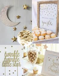 twinkle twinkle baby shower decorations twinkle twinkle baby shower white and gold baby