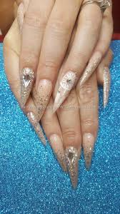 eye candy nails u0026 training acrylic nails with and crystals