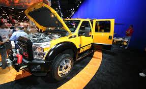 Ford F250 Concept Truck - 2011 ford super duty dewalt contractor concept auto shows news