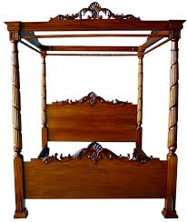 antique canopy bed awesome lincoln canopy four poster bed antique mahogany repro with