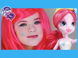my little pony pinkie pie makeup tutorial equestria girls doll
