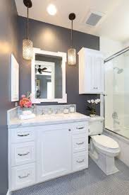 lighting bathroom vanity ideas grey glass tiles mosaic wall design