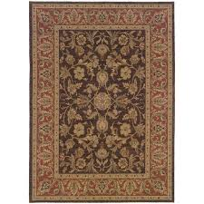 Rust Area Rug Weavers Nadira 042a2 Brown Rust Area Rug Kaoud Rugs