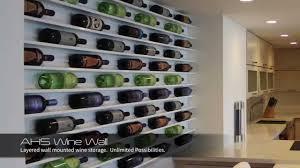 wine wall art by wine collection wine rack wine racks youtube