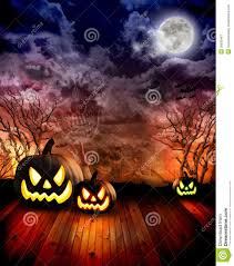 scary halloween images free scary halloween pumpkins at night royalty free stock photography