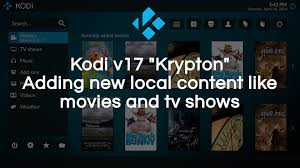 add local remote content to your library in kodi v17 youtube