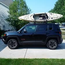 jeep kayak rack kayak transportation jeep renegade forum