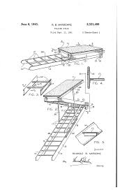patent us2321499 folding stair google patents