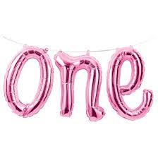 1st birthday girl 1st birthday girl one balloon banner target