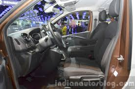 opel vivaro surf concept front seats at iaa 2015 indian autos blog