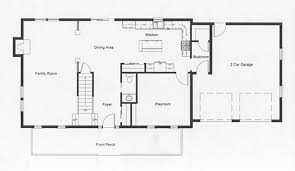 open floor plans 2 story colonial floor plans monmouth county county new