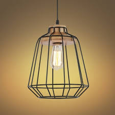 Wood Pendant Light Fixture Fashion Style Wood Pendant Lights Industrial Lighting