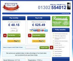 compare insurance quotes car insurance quote compare one call insurance