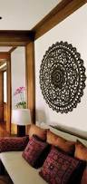 elegant medallion wood carved wall plaque large round wood