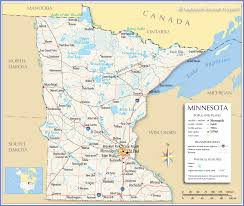 Minneapolis Neighborhood Map Reference Map Of Minnesota Usa Nations Online Project