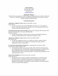 rn resume cover letter resume nurse example sample resume123 resume nurse example