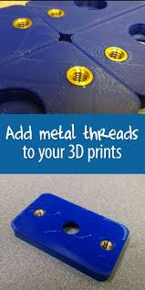Home Design 3d 9apps Add Metal Threads To Your 3d Prints Make Them Functional